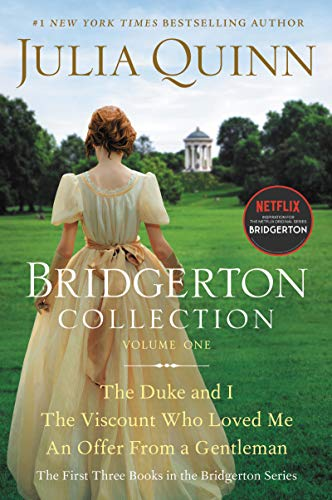 Julia Quinn collection of Bridgerton Books - cover