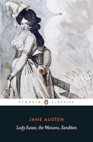 Short novels by Jane Austen cover of book