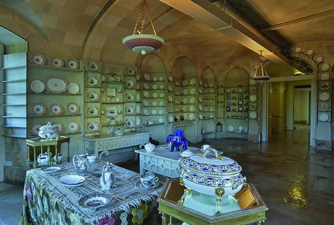 The China Room at Blenheim Palace