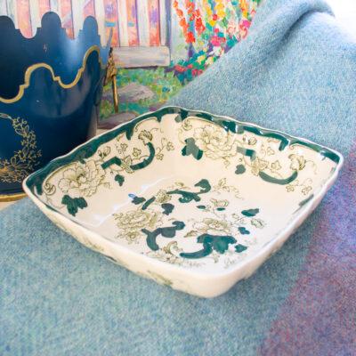 Mason's Ironstone Chartruese bowl
