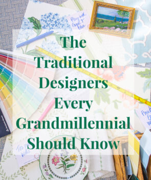 The Traditional Designers Every Grandmillennial Should Know graphic collage