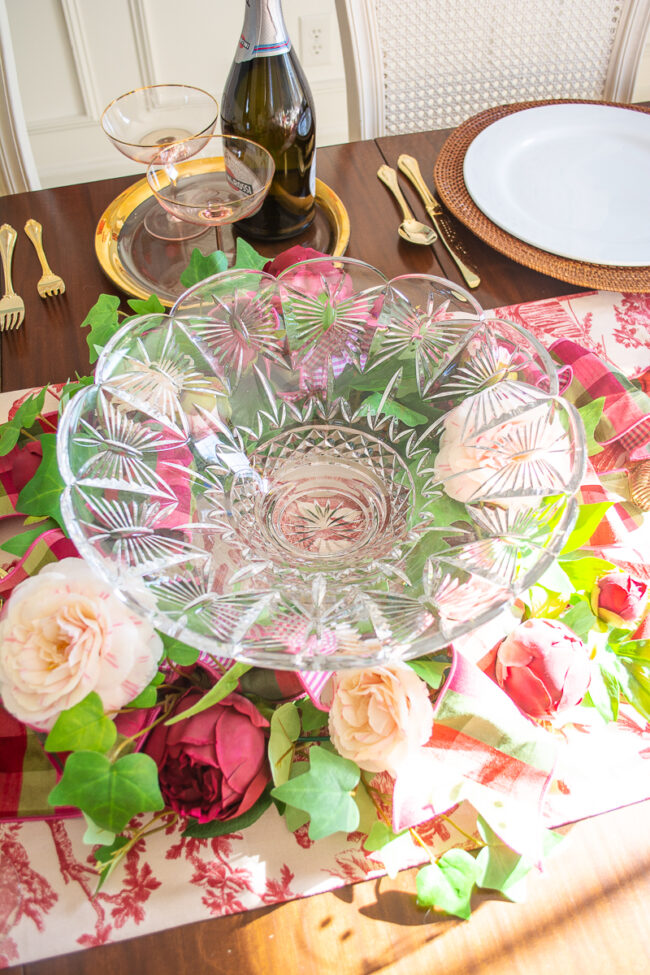 Waterford Crystal Butterflies Centerpiece Bowl
