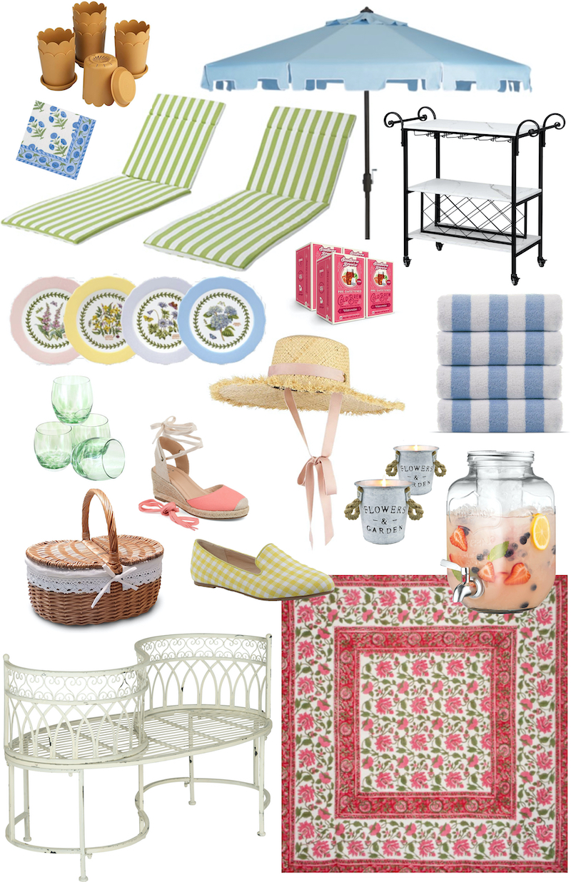 Grandmillennial summer finds for the closet, home, and table