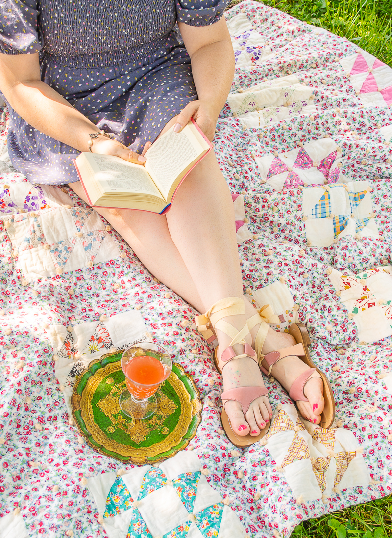 Wile away the afternoon with one of the books from my summer reading list! Pour some wine and grab a blanket for a shady spot in the yard.