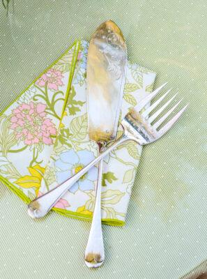 James Dixon & Sons silverplate fish set