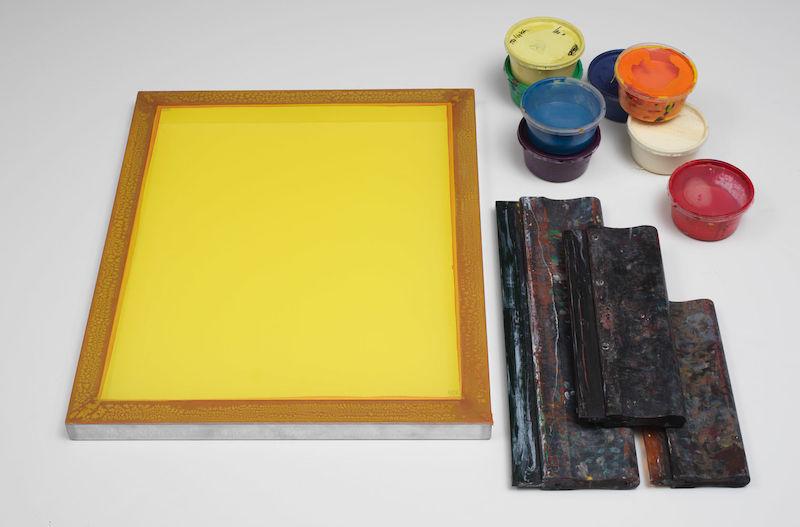 Silk Screen printing tools