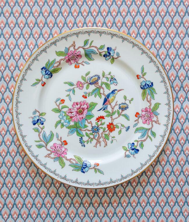 Aynsley Pembroke bird plate