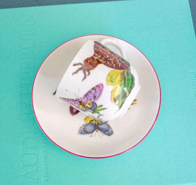 Mottahedeh Chelsea botanical dessert set
